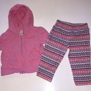 Bundle 3/$10 or $5. 6-9 girls jacket and pant set.